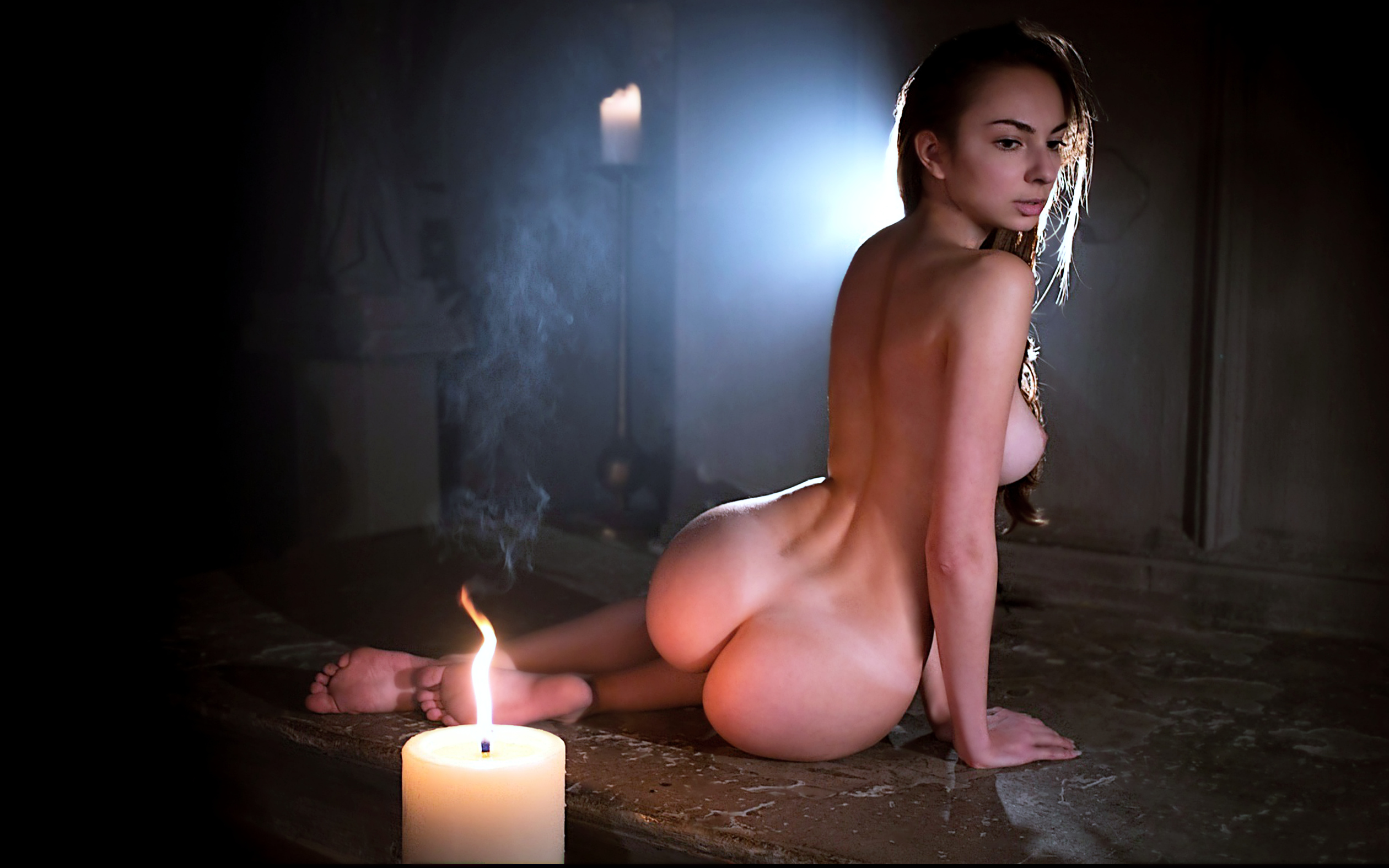 Hot naked ass with candle, free porn video my fetish
