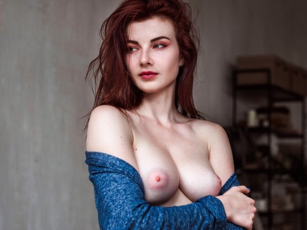 Agree, redhead boobs nipples for